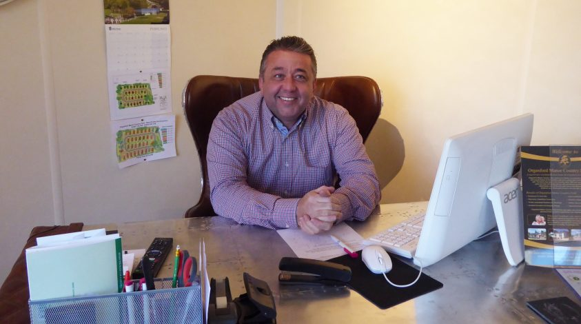 Henry is the owner of Organford Manor Country Park