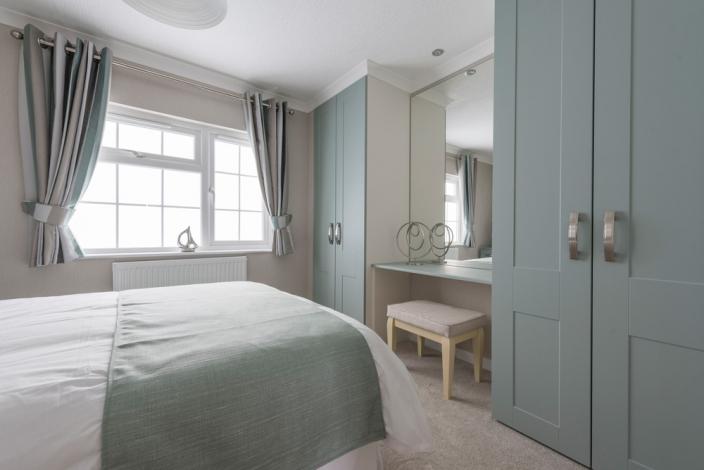 residential park homes omar bedroom internal
