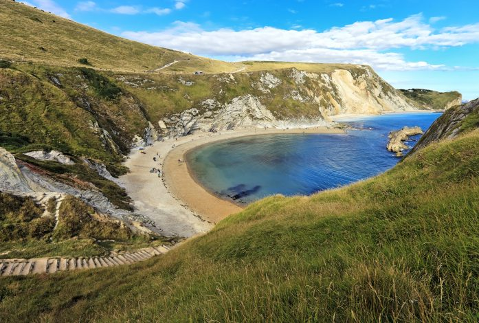 Dorset coastline looking towards West Bay