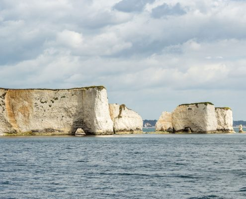 Old Harry Rocks at Poole Harbour, Dorset